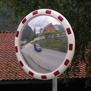Convex Traffic Mirrors