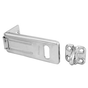 91mm Steel Hasp, Accepts 9mm Shackle Diameter