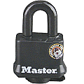 40mm Thermoplastic Covered Padlock, Black