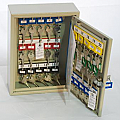 30 Hook, Adjustable Hook Key Cabinet