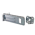 152mm Steel Hasp, Accepts 14mm Shackle Diameter