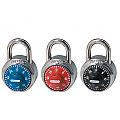 48mm Fixed Combination Padlock, Coloured Dials