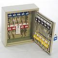 20 Hook, Adjustable Hook Key Cabinet
