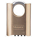 51mm Brass Changeable Combination Padlock, Four Dials, Shrouded Shackle